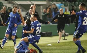 El Oviedo acaba la jornada en 'play off' por primera vez desde septiembre