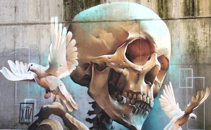 Diez obras del gijonés Javier Robledo 'XAV', tatuador y artista urbano