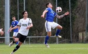 El Oviedo B rompe su racha de derrotas con un empate