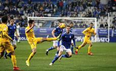 El Real Oviedo se asienta en el 'play off' (1 - 0)