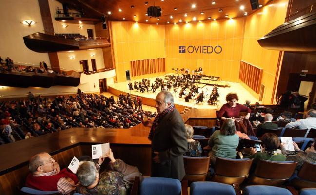 La reforma del Auditorio obligará a trasladar la programación al Campoamor y al Filarmónica