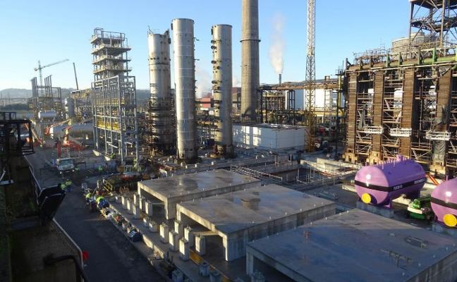 Se aceleran las obras en la instalación de la siderúrgica para acortar los plazos