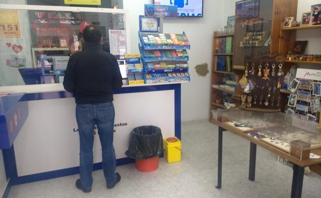 Butrón frustrado en un local de la calle de El Prado
