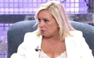 El último cambio de 'look' de Carmen Borrego revoluciona 'Sálvame'