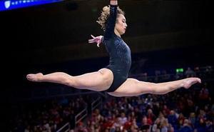 Katelyn Ohashi, la estrella que vuelve a brillar en la gimnasia rítimica