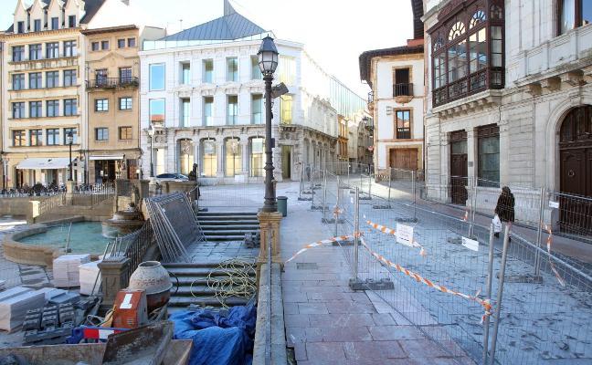 La renovación de la plaza de la Catedral y la Losa, a punto de finalizar