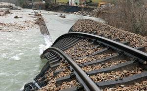 Adif comienza este jueves las obras para restituir el trazado del tren en Aller