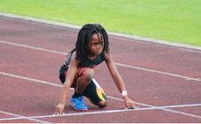 Rudolph 'Blaze' Ingram, el niño de siete años que muchos ven como el sucesor de Usain Bolt
