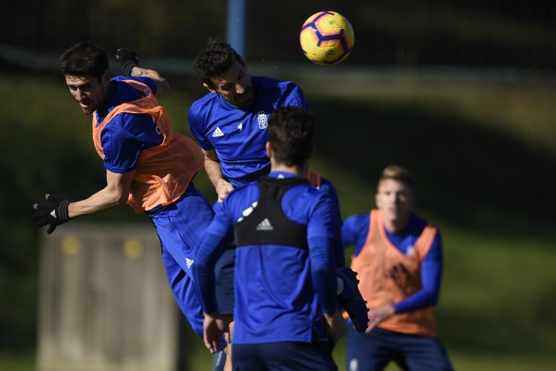 Entrenamiento del Real Oviedo (13/02/19)