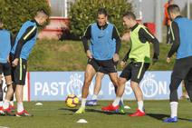 Entrenamiento del Sporting (14-2-19)