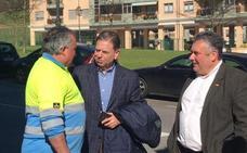 Alfredo Canteli visita Ciudad Naranco