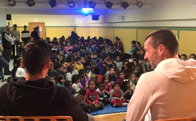 Visita al colegio San Pedro de Los Arcos