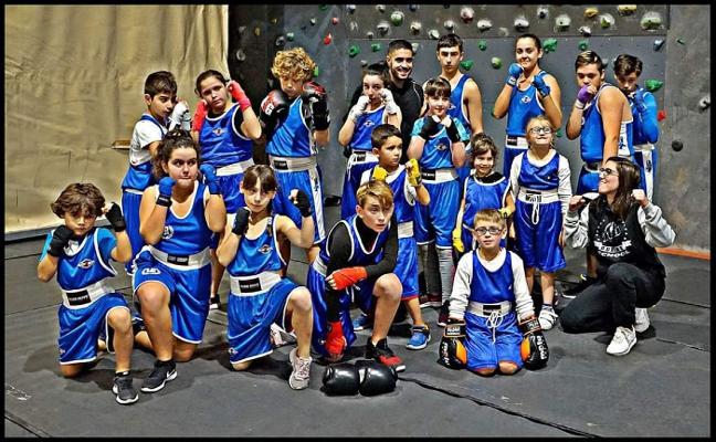 Boxeo sin golpes en Los Canapés