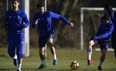 Entrenamiento del Real Oviedo (14-2-19)