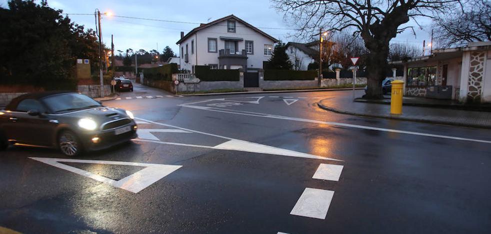 Un año y tres meses de prisión para una mujer por arrollar a un motorista en Gijón
