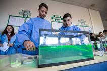 Futuros científicos en el colegio Ecole