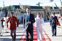 Doña Letizia derrocha elegancia en Marruecos