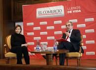 Carmen Moriyón, en el Forum de EL COMERCIO