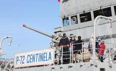 El patrullero Centinela, en Avilés