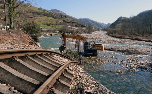 La reposición de la vía que se llevó una riada en Aller costará 1,6 millones