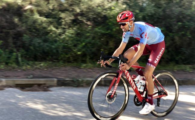 «El equipo quiere que haga Giro y Tour»