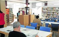 Cierran por humedades las salas de lectura de la biblioteca de Piedras Blancas