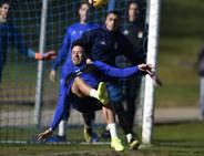 Entrenamiento del Real Oviedo (15-02)