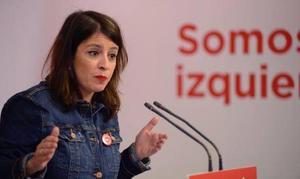 Adriana Lastra, sobre encabezar la lista del PSOE en Asturias: «Estoy a lo que la militancia y la dirección decida»