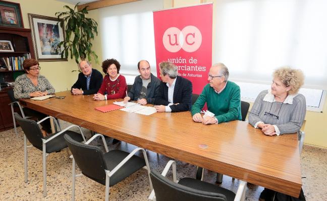 La Unión de Comerciantes y Xega, últimas Medallas de Plata de Gijón
