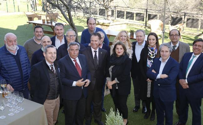 «Álvaro Muñiz ha sido una figura fundamental para el recinto ferial», dice Baragaño