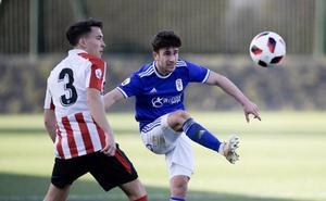 Contundente derrota del Oviedo B en Lezama