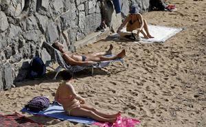 Asturias presume de primavera en pleno invierno