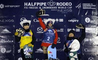 Queralt Castellet ganó en Calgary y es segunda en la Copa del Mundo