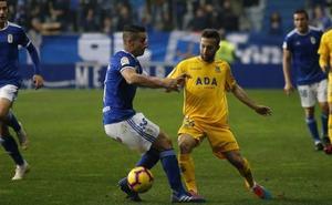 El gol de la victoria del Real Oviedo
