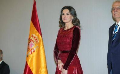 El toque asturiano de Letizia en su viaje a Marruecos
