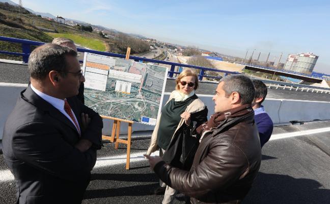 La entrada a Avilés volverá a sufrir cambios por los accesos al PEPA