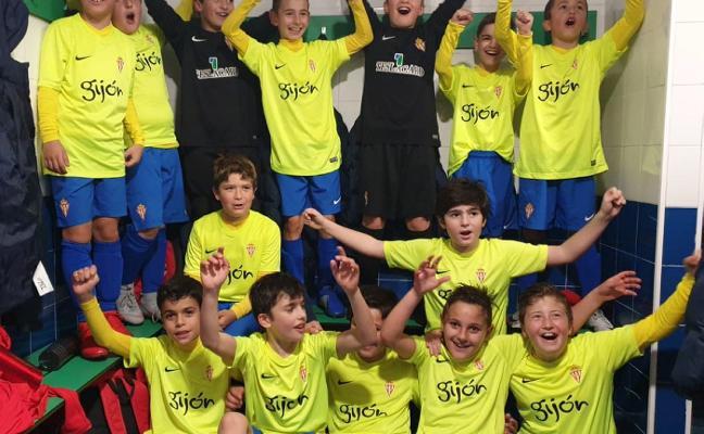 El alevín de la Escuela de Mareo en Logroño, campeón en La Rioja