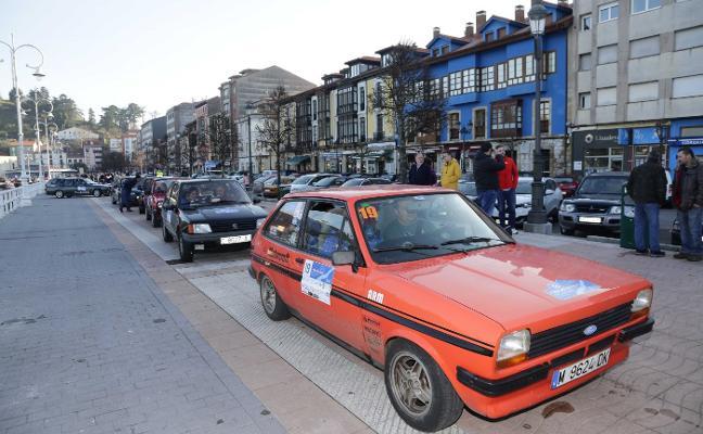 Los clásicos se abren paso en el primer rallye riosellano