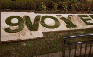 Destrozan el conocido calendario del Campo San Francisco de Oviedo