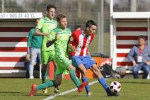 Sporting B 0 - 2 Mirandés, en imágenes