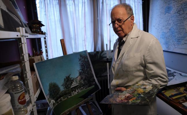 Fallece Marino Fuego, pintor y antiguo miembro de la Banda de Música de Siero