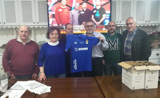 La peña azul Manolín celebra su 39 aniversario