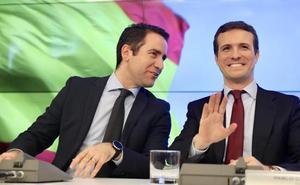 Pablo Casado negociará con Foro reeditar la coalición para las elecciones generales del 28 abril