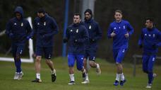 Entrenamiento del Real Oviedo (18/02/19)