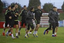 Entrenamiento del Sporting (18/02/19)