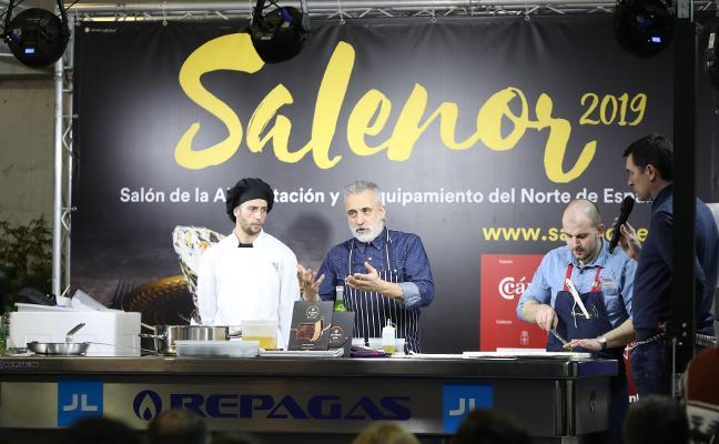 El chef Sergi Arola lleva la alta cocina a pie de la calle