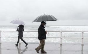 El aeropuerto, Colunga y Gijón, donde más llovió en Asturias