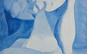 El Bellas Artes exhibe una nueva pintura del artista Luis Fernández