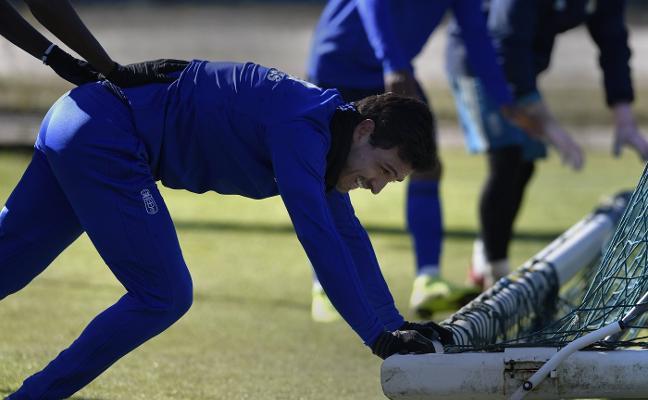 Real Oviedo | Alanís: «Vamos bien, pero falta mucho y hay que sumar»