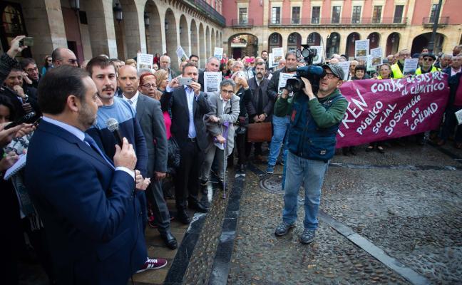 Fomento asegura que «trabaja» para firmar el convenio del plan de vías de Gijón antes del 5 de marzo